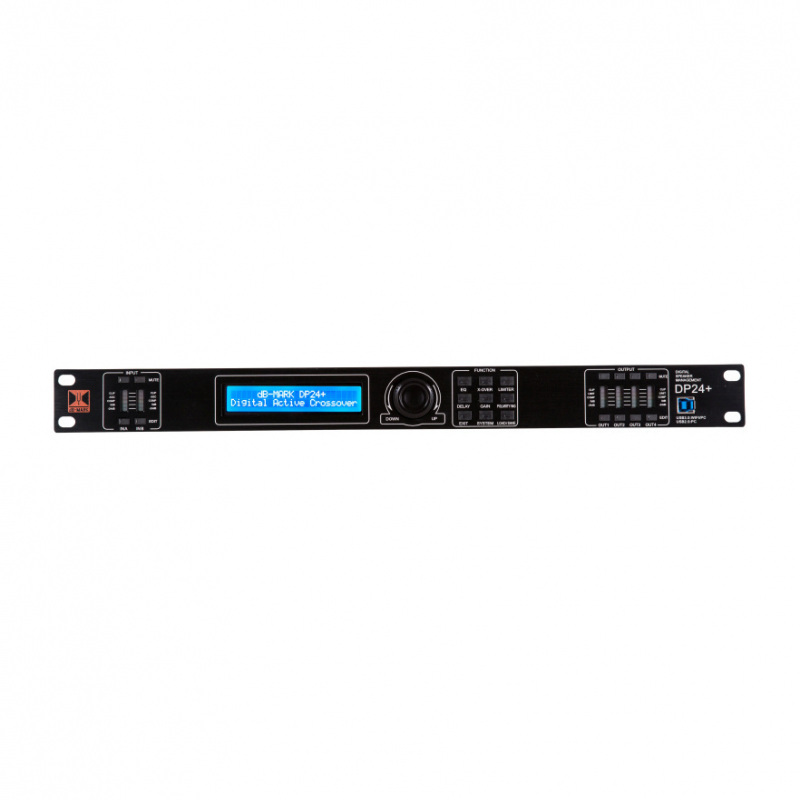 dB-Mark DP24 PLUS - 2-in 4-out Digital Active Crossover