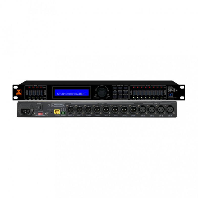 dB-Mark DP48 PLUS - 4-in 8-out Digital Active Crossover